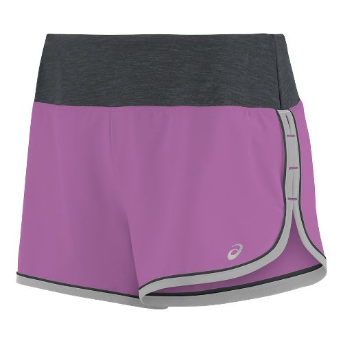 Womens ASICS Everysport Lined Shorts - Orchid L