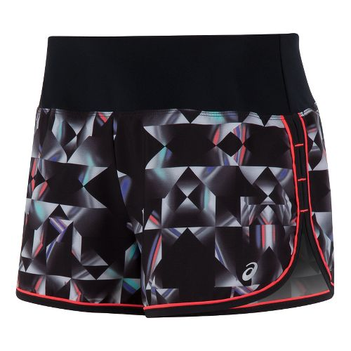 Womens ASICS Everysport Lined Shorts - Star Print XS