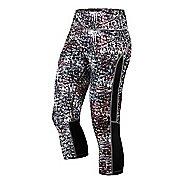 Womens ASICS Printed Capri Pants