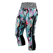 Womens ASICS Printed Capri Pants