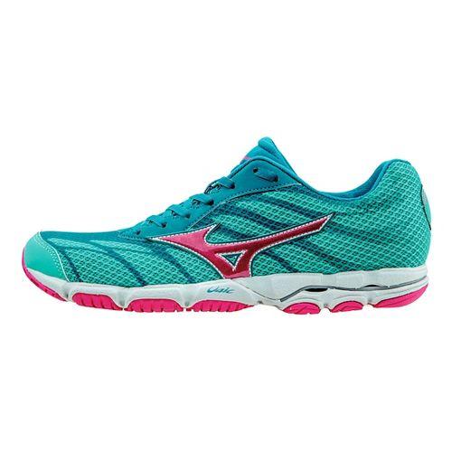 Womens Mizuno Wave Hitogami 3 Running Shoe - Atlantis 6.5