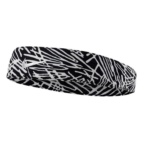 Womens Tapered Fury Headband Headwear - Black