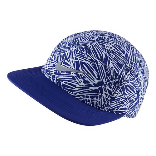 Womens Nike Run Pocket Cap Headwear - Deep Royal