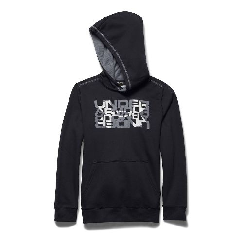 Kids Under Armour�Rival Cotton Logo X 2 Hoody