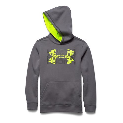 Children's Under Armour�Rival Cotton Logo X 2 Hoody