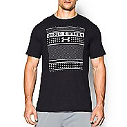 Mens Under Armour Ugly Sweater T Short Sleeve Technical Tops