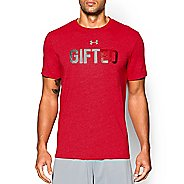 Mens Under Armour Gifted Xmas T Short Sleeve Technical Tops