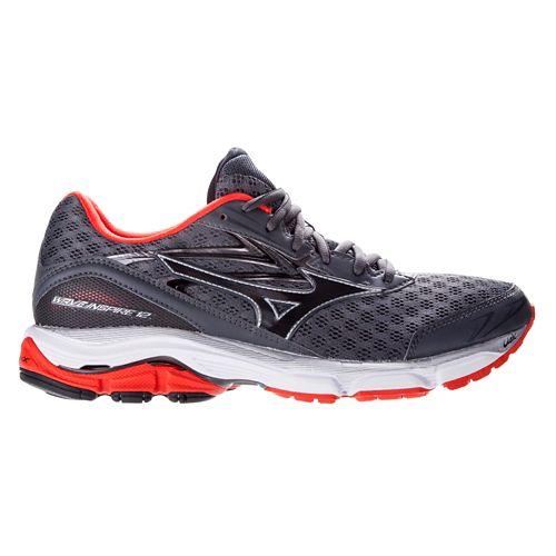 Mens Mizuno Wave Inspire 12 Running Shoe - Charcoal 14