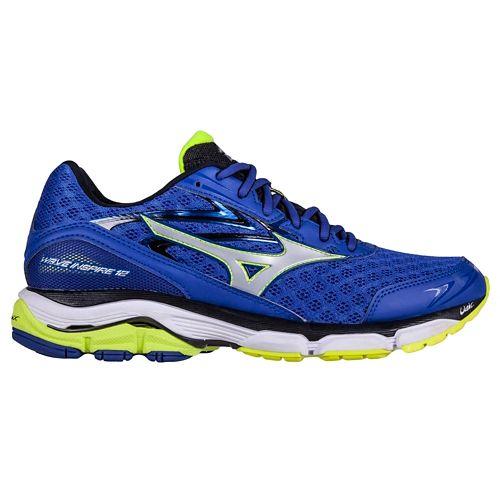 Mens Mizuno Wave Inspire 12 Running Shoe - Blue 8.5