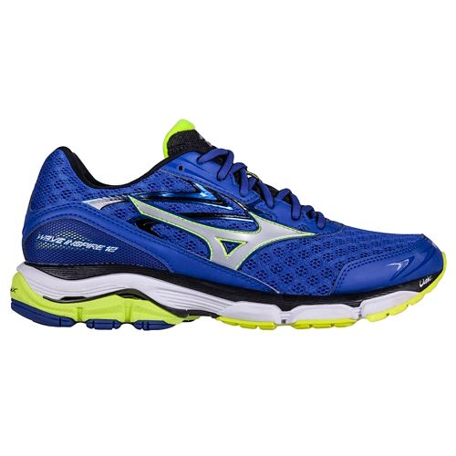 Mens Mizuno Wave Inspire 12 Running Shoe - Blue 9.5