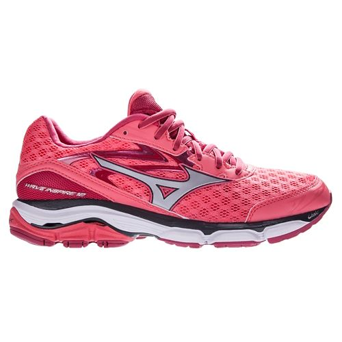 Womens Mizuno Wave Inspire 12 Running Shoe - Coral 10.5