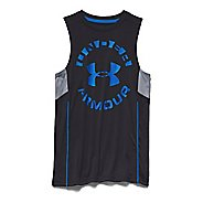 Kids Under Armour Circle Script Tank Sleeveless Technical Tops