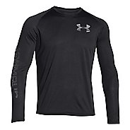 Mens Under Armour Tech Longsleeve Graphic T Long Sleeve No Zip Technical Tops
