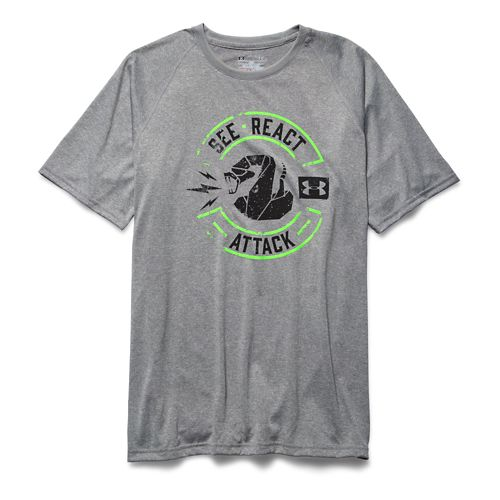 Men's Under Armour�Tech See React Attack T