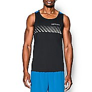 Mens Under Armour Heatgear ArmourVent Apollo Singlet Sleeveless Technical Tops