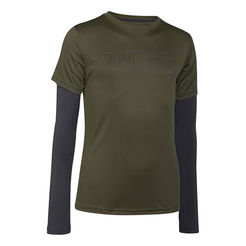 Children's Under Armour�Reflective 2-In-1 T