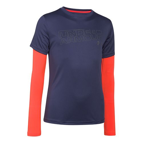Kids Under Armour�Reflective 2-In-1 T