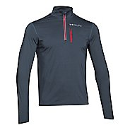 Mens Under Armour Heatgear ArmourVent Apollo 1/4 Zip Long Sleeve Half Zip Technical Tops
