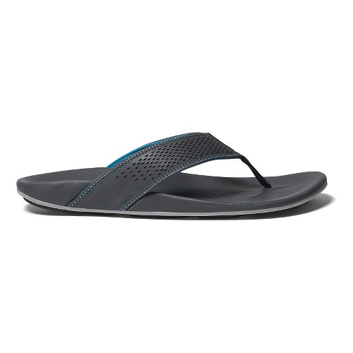 Mens OluKai Kekoa Sandals Shoe - Dark Shadow/Scuba 8