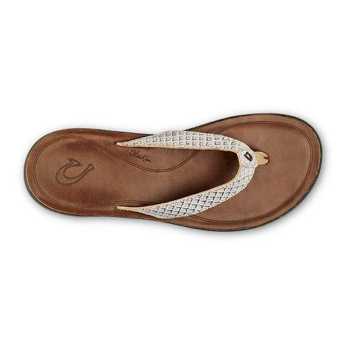 Womens OluKai Pua Sandals Shoe - Bubbly/Sahara 8