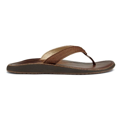 Womens OluKai Pua Sandals Shoe - Bean 9