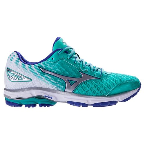 Womens Mizuno Wave Rider 19 Running Shoe - Atlantis 11.5