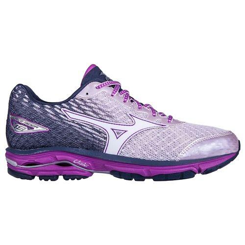 Womens Mizuno Wave Rider 19 Running Shoe - Lilac/Violet 6