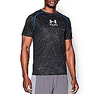 Mens Under Armour Run T Short Sleeve Technical Tops
