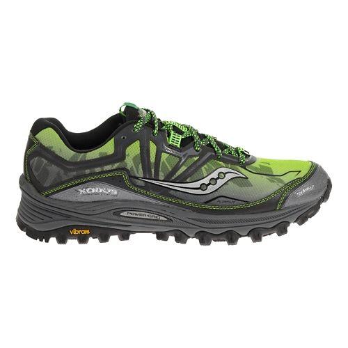 Mens Saucony Xodus 6.0 Trail Running Shoe - Grey/Black 8.5
