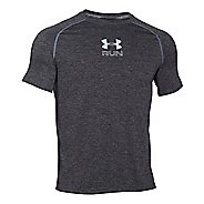 Mens Under Armour Run Twist T Short Sleeve Technical Tops