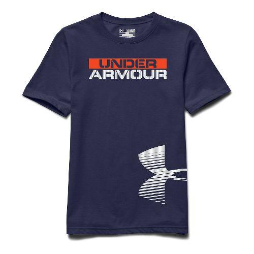 Kids Under Armour�Reflective Logo Shortsleeve T