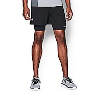 Mens Under Armour Launch Racer 2 in 1 Shorts