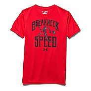 Kids Under Armour Breakneck Speed T Short Sleeve Technical Tops