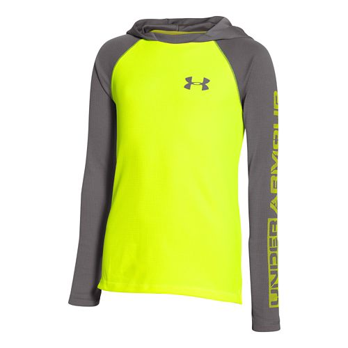 Kids Under Armour�Waffle Hoody
