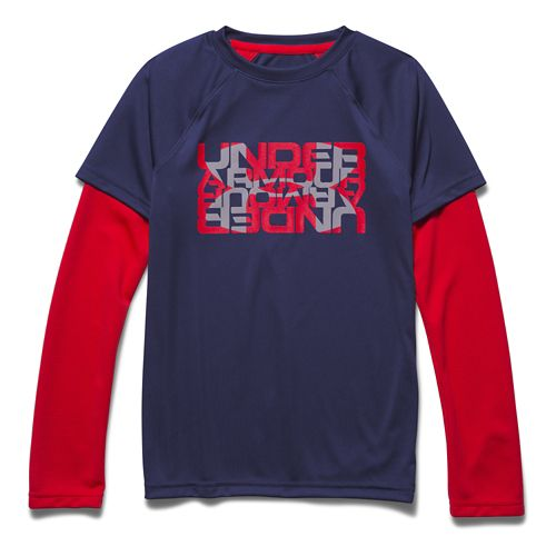 Children's Under Armour�Waffle 2-In-1 Longsleeve T