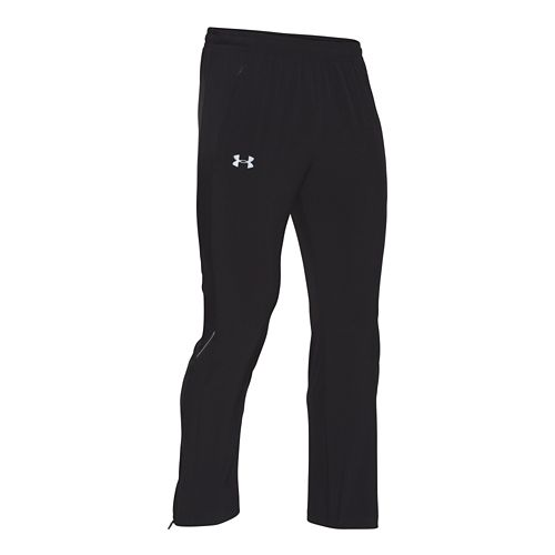 Mens Under Armour Launch Stretch-Woven Pants - Black L