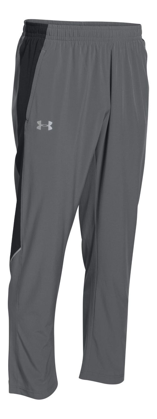 Mens Under Armour Launch Stretch-Woven Pants - Graphite L