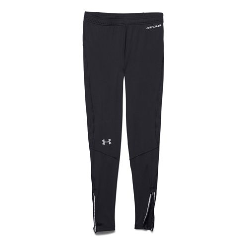 Mens Under Armour Launch Compression Legging Full Length Tights - Black XL