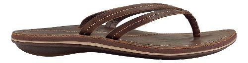 Womens OluKai U'i Sandals Shoe - Dark Java/Dark Java 5