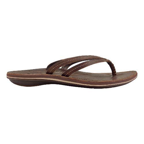 Womens OluKai U'i Sandals Shoe - Dark Java/Dark Java 7