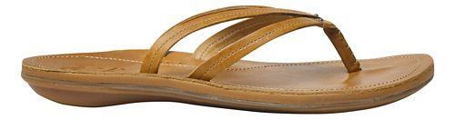 Womens OluKai U'i Sandals Shoe - Sahara/Sahara 6