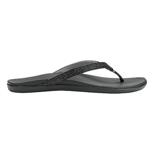 Womens OluKai Ho'opio Sandals Shoe - Grenadine/Grenadine 8