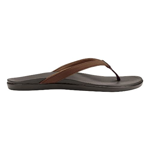 Womens OluKai Ho'opio Sandals Shoe - Dark Java/Dark Java 6