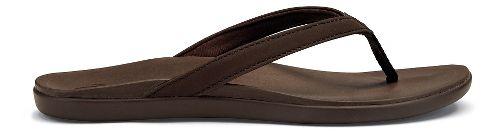 Womens OluKai Ho'opio Sandals Shoe - Kona Coffee 5