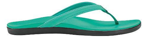 Womens OluKai Ho'opio Sandals Shoe - Swell Green/Swell Green 11