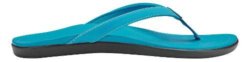 Womens OluKai Ho'opio Sandals Shoe - Clay/Dark Java 10