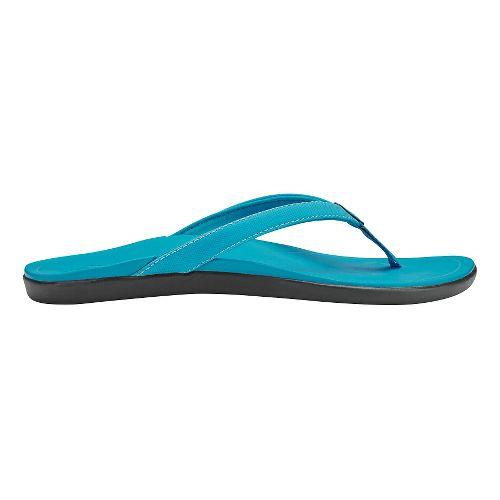 Womens OluKai Ho'opio Sandals Shoe - Vivid Blue/Vivid Blue 8