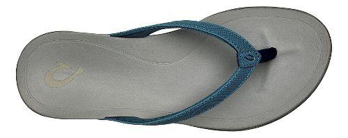 Womens OluKai Ho'opio Sandals Shoe - Magenta Purple/Grey 7