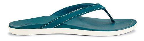 Womens OluKai Ho'opio Sandals Shoe - Teal/Teal 11