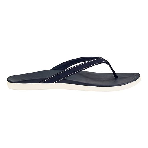 Womens OluKai Ho'opio Sandals Shoe - Blue/Blue 8